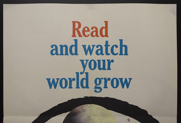 1962 Read And Watch Your World Grow National Library Week Books