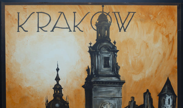 c.1925 Krakow Poland by Stefan Norblin Polish Travel