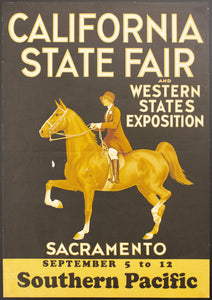 1931 California State Fair Western States Exposition Southern Pacific