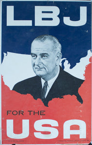 1964 LBJ For the USA