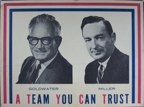 1968 Goldwater | Miller | A Team You Can Trust