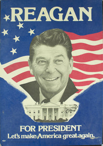 1984 Reagan For President | Let's Make America Great Again