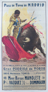 1945 Plaza de Toros de Madrid