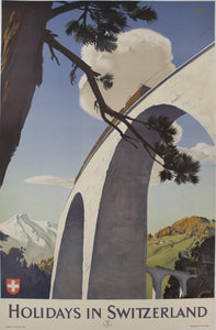 1946 Holidays in Switzerland by Edmund Welf