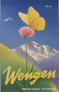 1946 Wengen - Schweiz Suisse Switzerland by Leo Keck