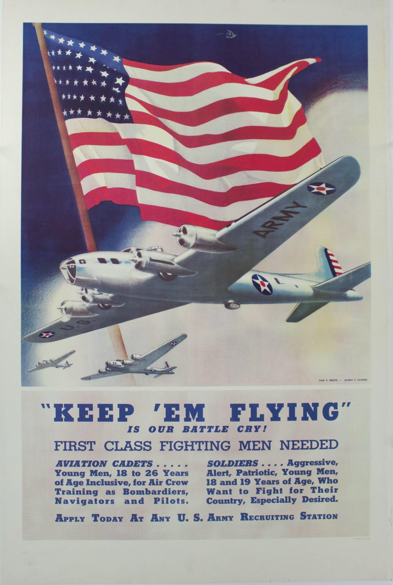 1942 Keep 'em Flying is our Battle Cry