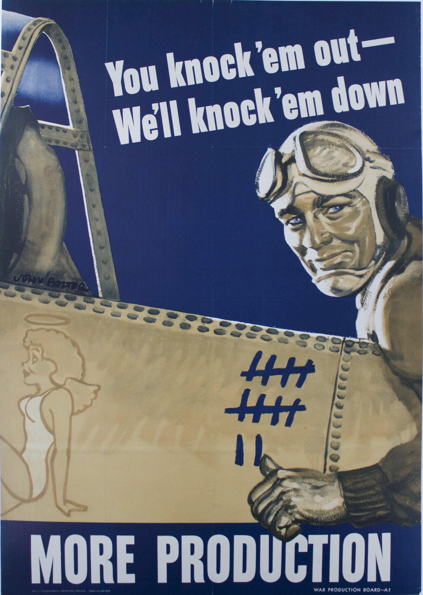 1942 You Knock 'em Out - We'll Knock 'em Down More Production