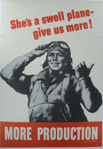 1942 She's a Swell Plane - Give us More! More Production