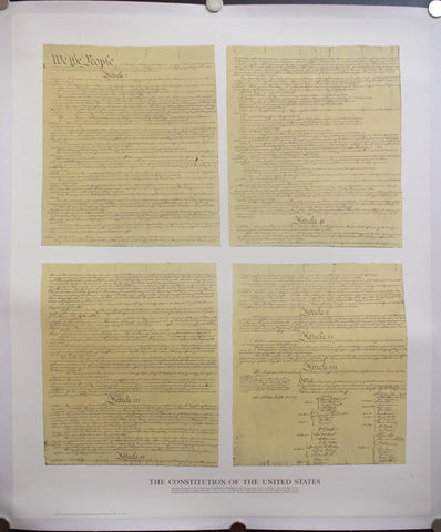 c. 1976 Constitution of the United States - Golden Age Posters