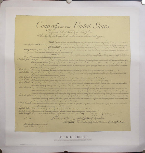c. 1976 The Bill of Rights