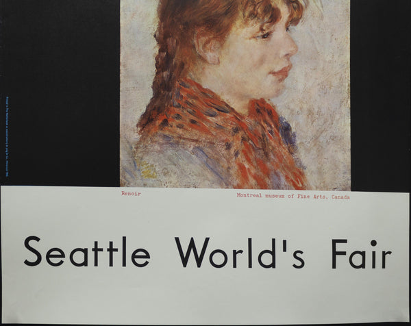 1962 Masterpieces of Art Seattle World's Fair Century 21 Exposition Renoir - Golden Age Posters
