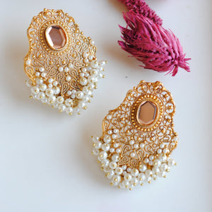 Signature Jaali Earrings
