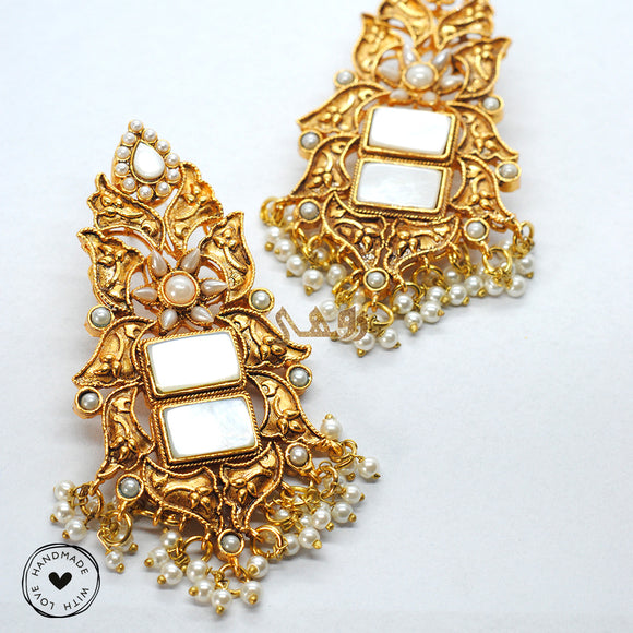 Rajhastani Tulip Earrings