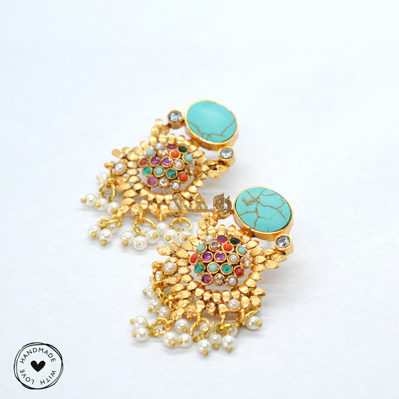 Nauratan Cluster Earrings
