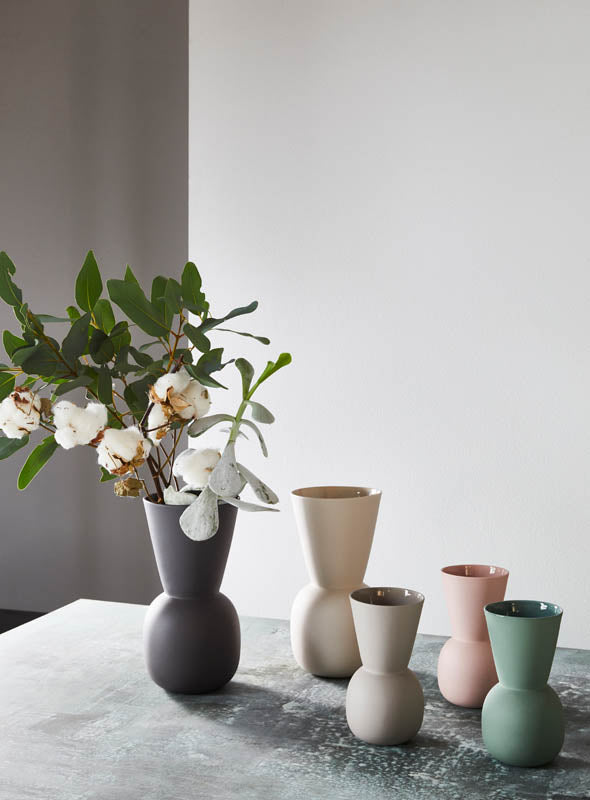 Marmoset Found | Cloud Bell Vase - Chalk White (L)