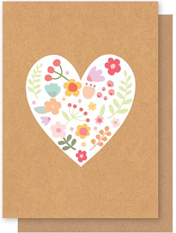 Elly Oak | Floral Love Heart