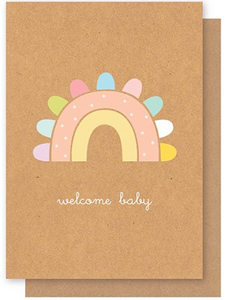 Elly Oak | Welcome Baby Rainbow