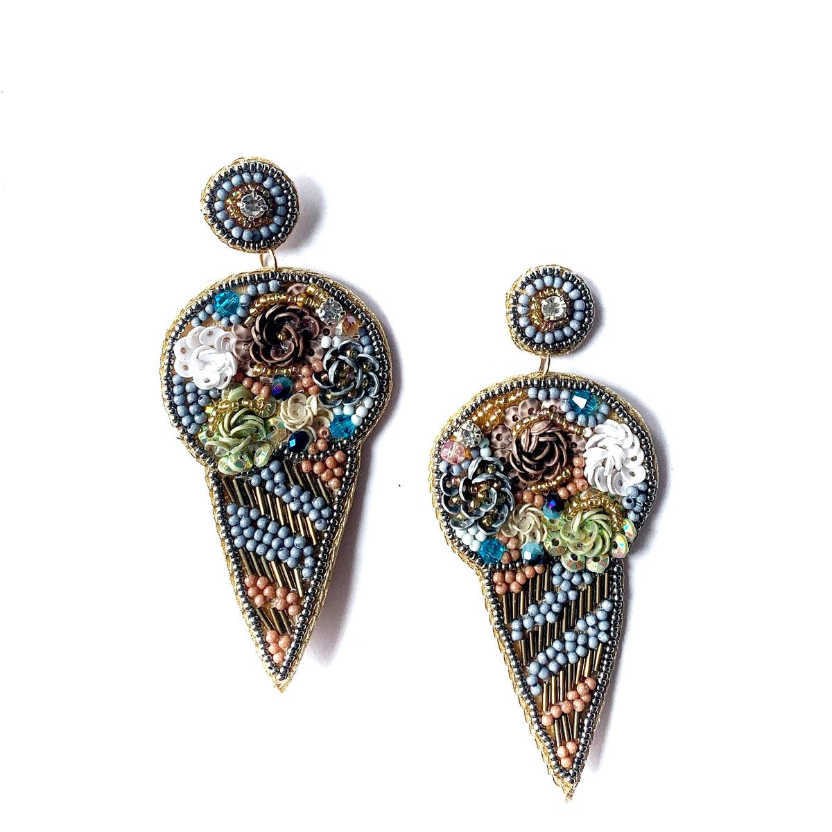 Zoda | Ice Cream Earrings