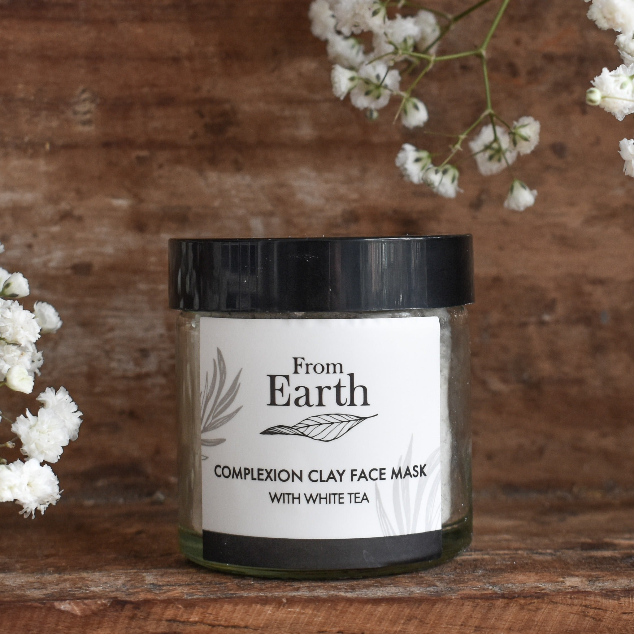 From Earth | Complexion Face Mask – With White Tea Pack 60ml