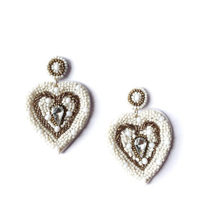 Zoda | Love Earrings