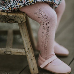 Open Weave Tights