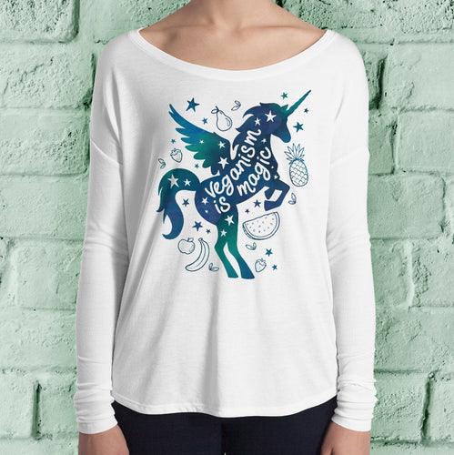 Veganism Is Magic / Vegan Unicorn Top