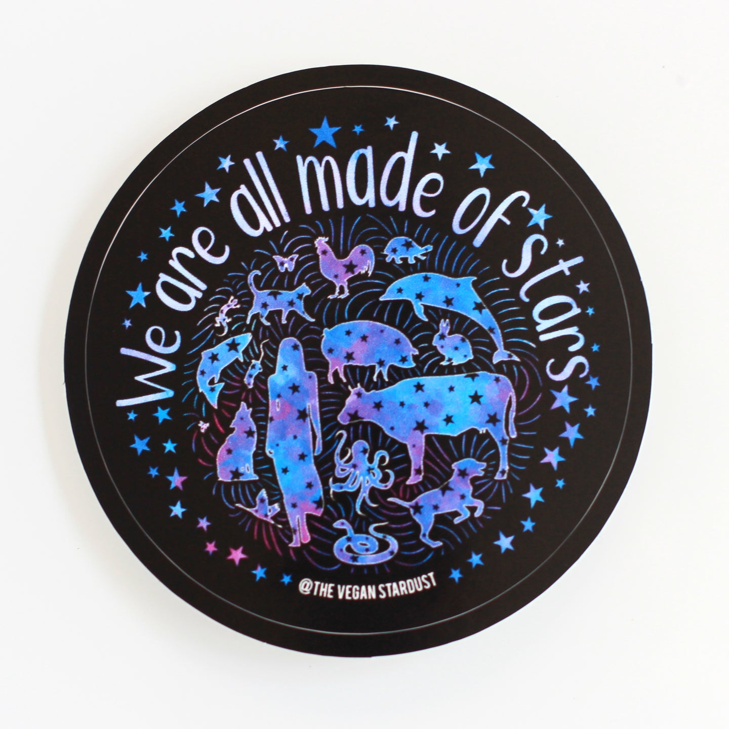We Are All Made Of Stars Sticker