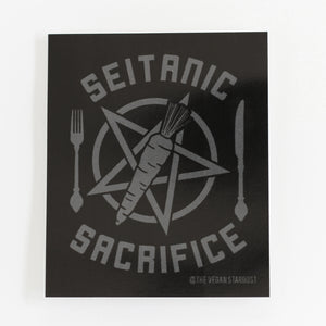 Seitanic Sacrifice Sticker