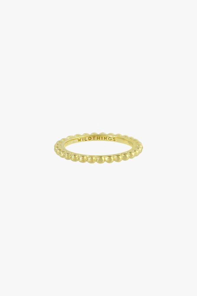 WILDTHINGS SMALL DOTS STACKING RING