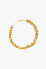 WILDTHINGS YELLOW FLOWER ANKLET