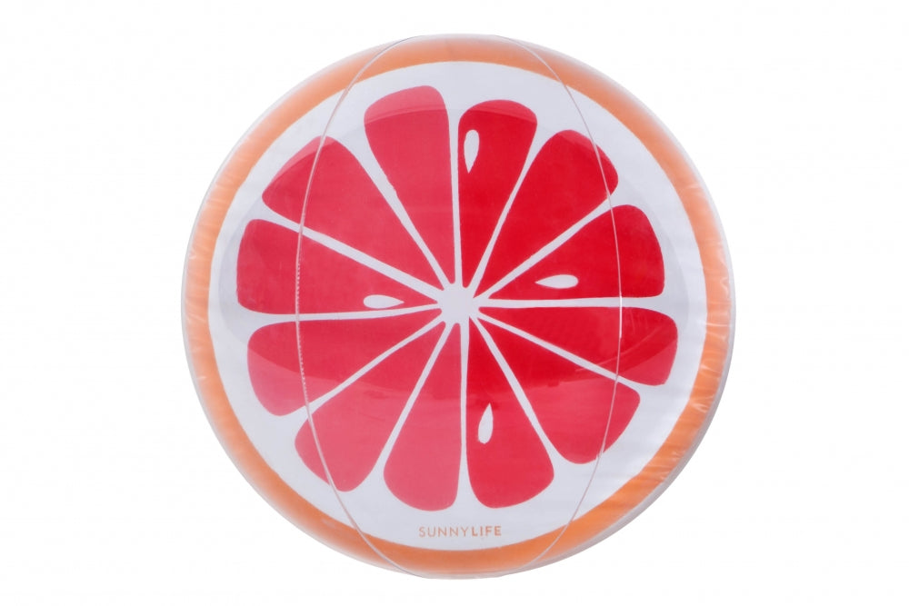 BEACH BALL GRAPEFRUIT
