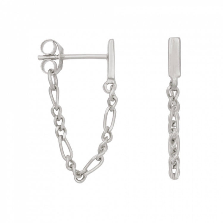 MINI BAR CHAIN SILVER