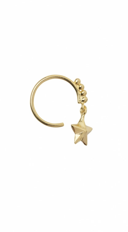 BETTY BOGAERS STAR DOTTED EARRING