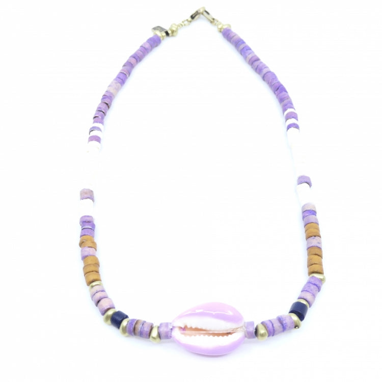 INDOCHINE COLLECTION SHELL SURF BLISS NECKLACE