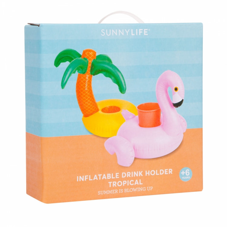 TROPICAL FLOATING DRINK HOLDER