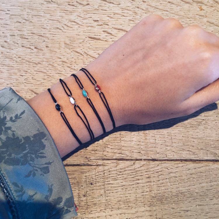 BRACELETS BLACK CONSTELLATION DIFFERENT COLORS