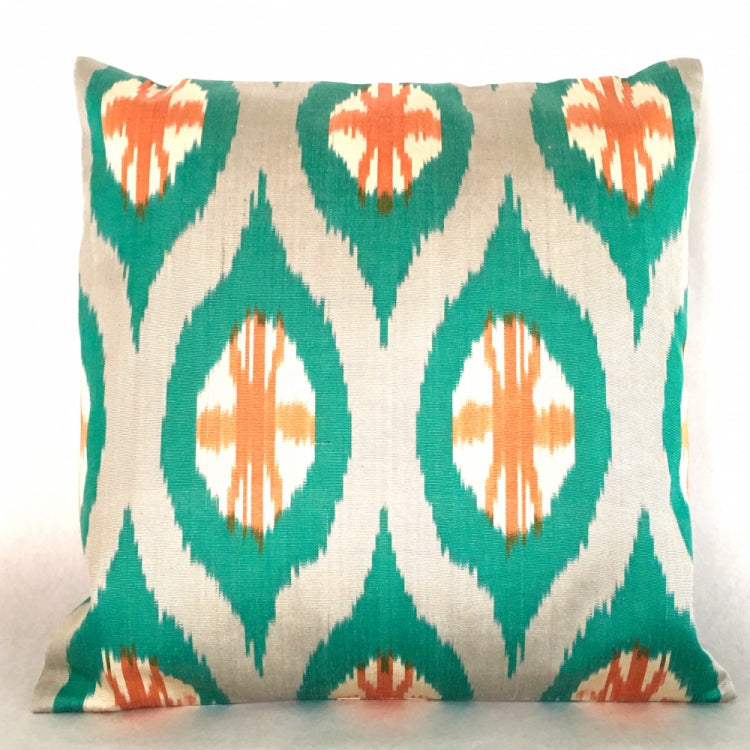CUSHION IKAT SUNSET