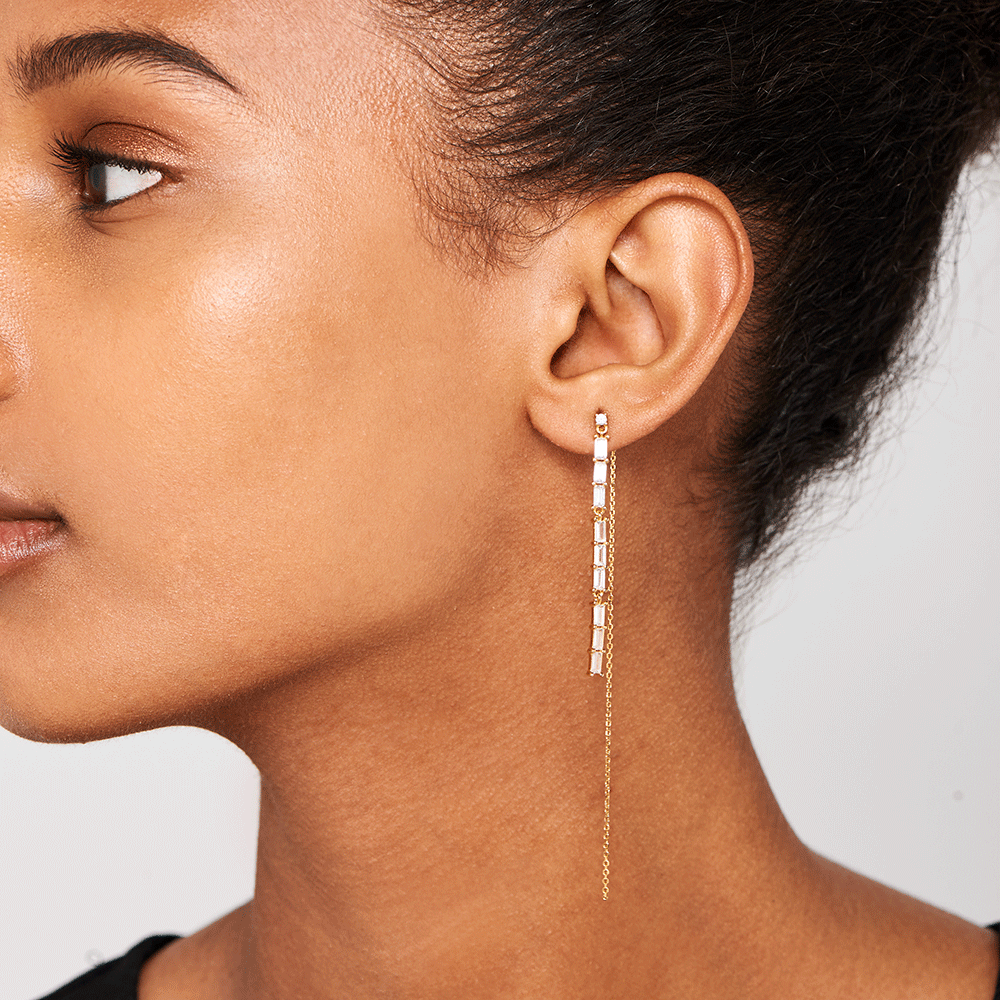 IDRIS GOLD EARRING