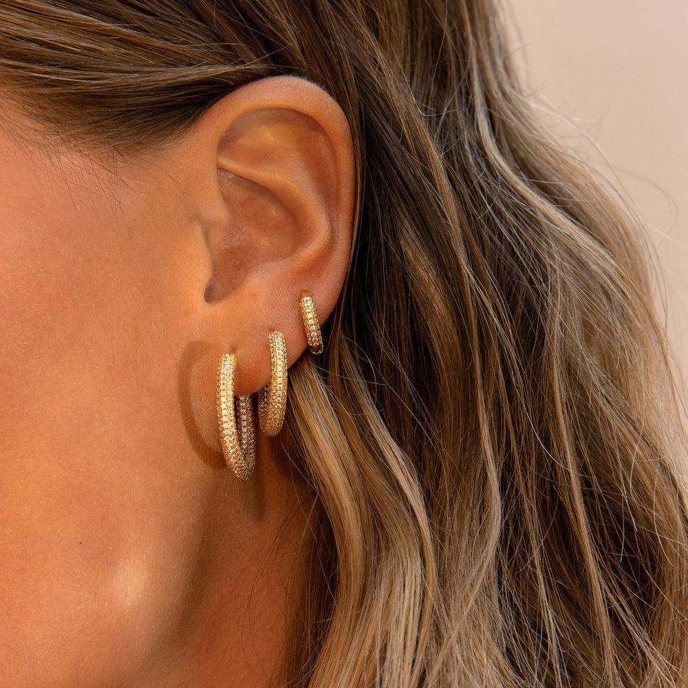 MINI DAPHNE GOLD EARRING