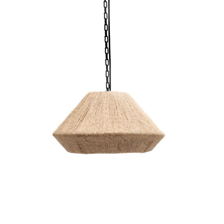 GOMMAIRE HANGING LAMP HENRY ROPE SMALL