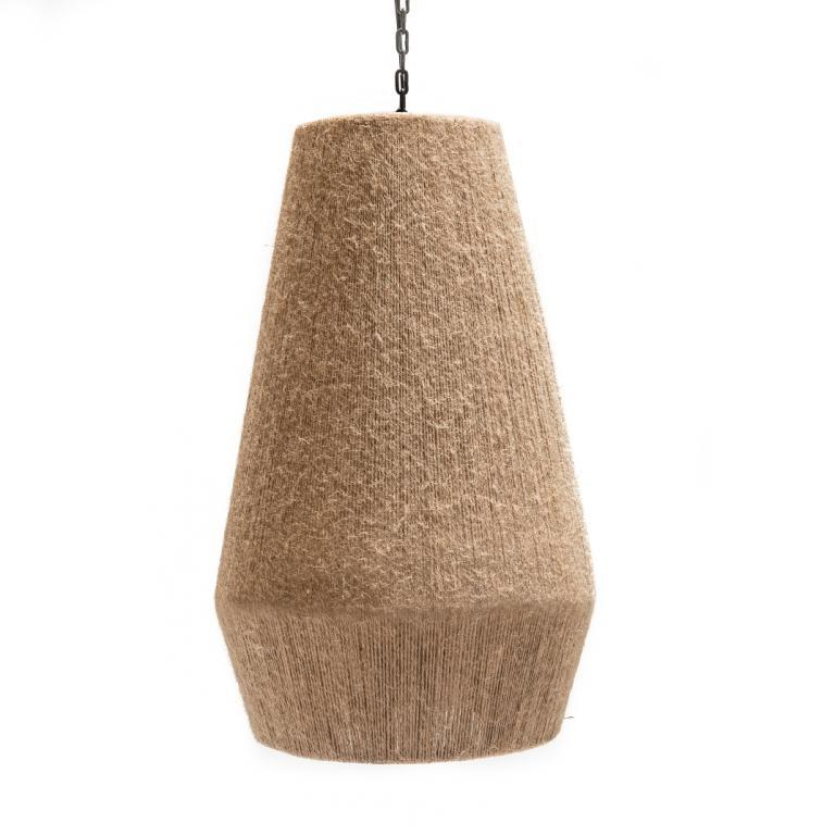 GOMMAIRE HANGING LAMP HENRY ROPE