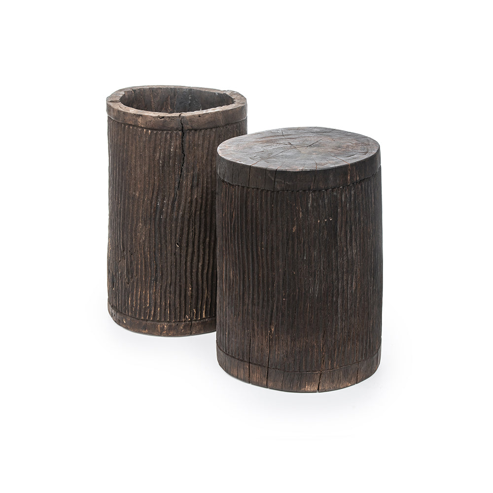 GOMMAIRE STOOL / POT FRANCY