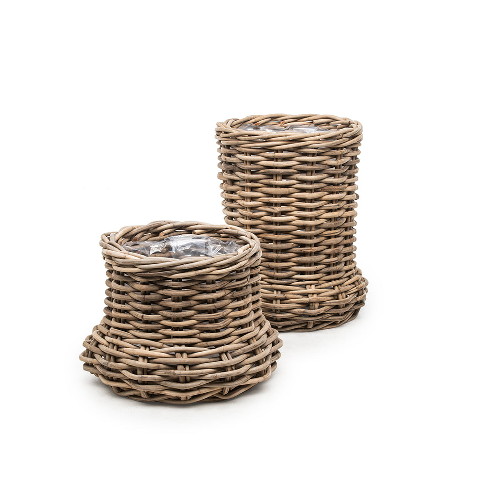 GOMMAIRE PLANTER BASKET NELL