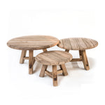 GOMMAIRE COFFEE TABLE ANTON SET OF 3