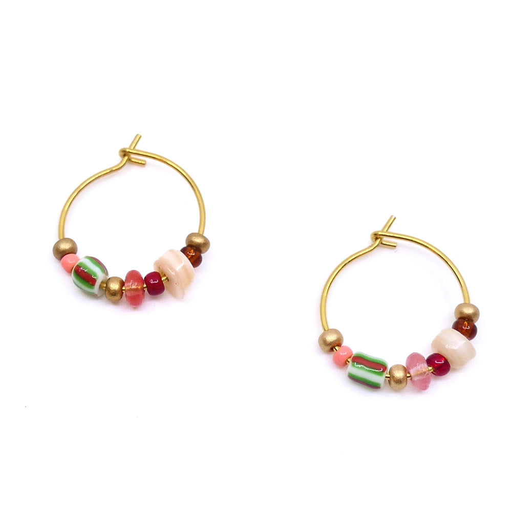 MIMARSE PUNCH EARRING