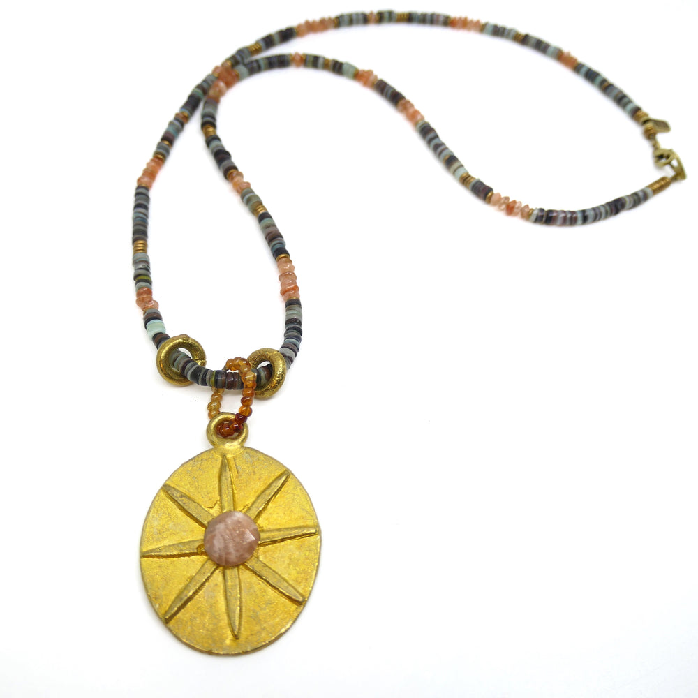 INDOCHINE COLLECTION ASTER NECKLACE
