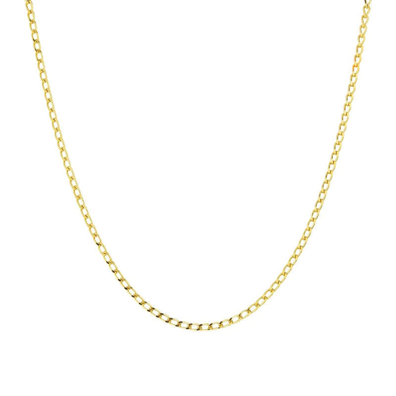WILDTHINGS MEDIUM OVAL NECKLACE (40cm)