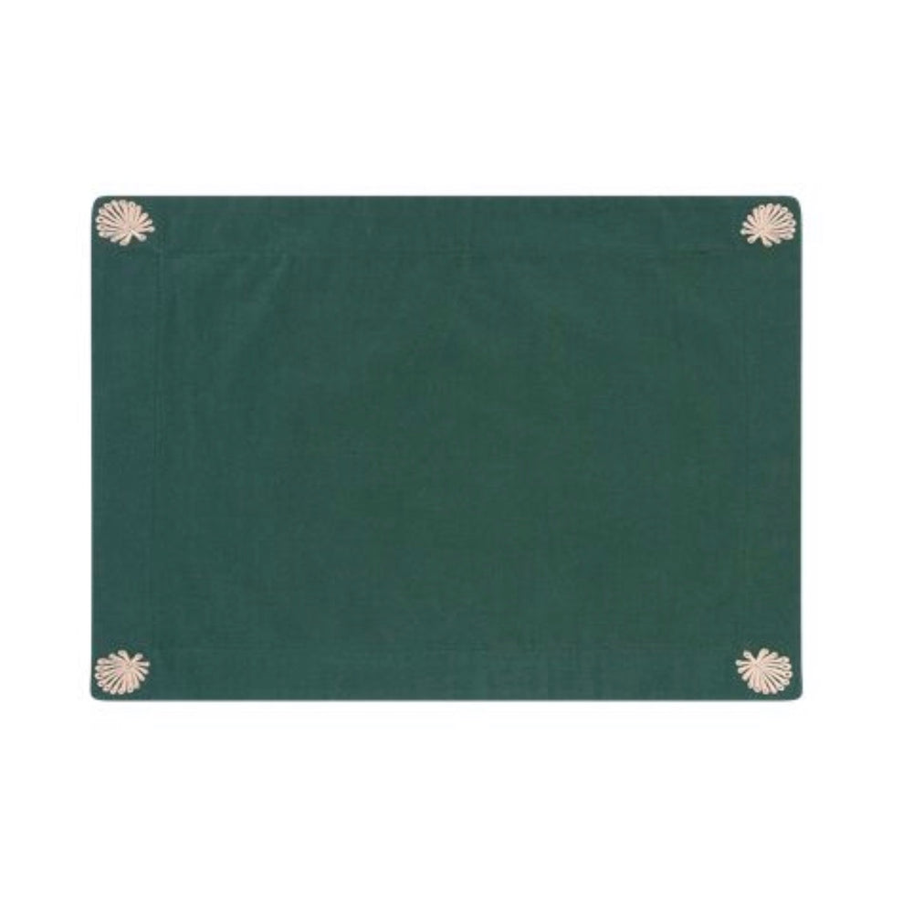 4 PLACEMATS DESERT GREEN
