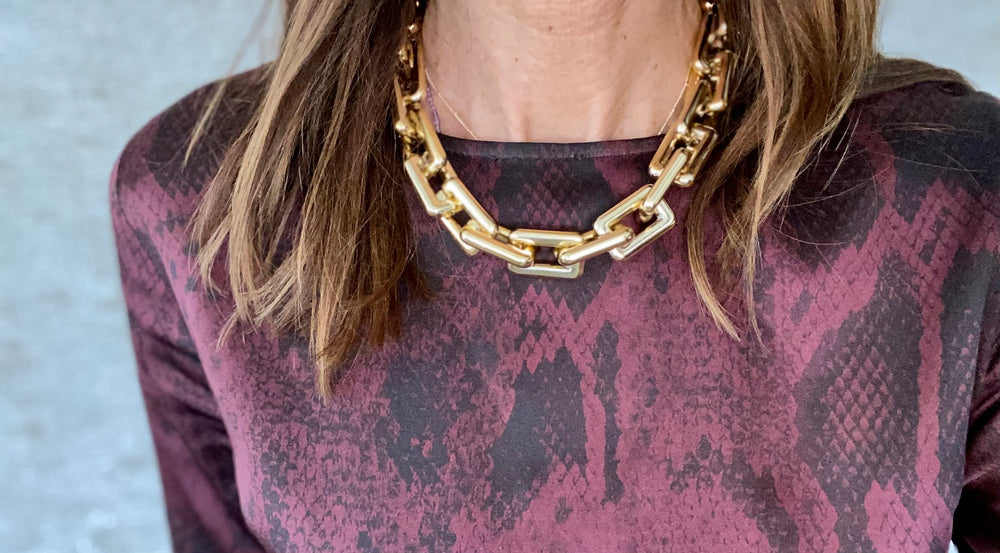 Andrea gold necklace