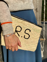 MIMARSE LEATHER CLUTCH PERSONALIZED